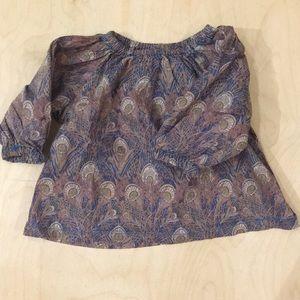 Peek blouse